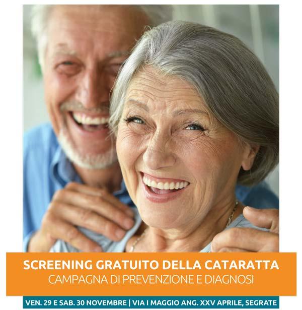 Campagna di Prevenzione e Diagnosi della Cataratta - Screening gratuiti a Segrate