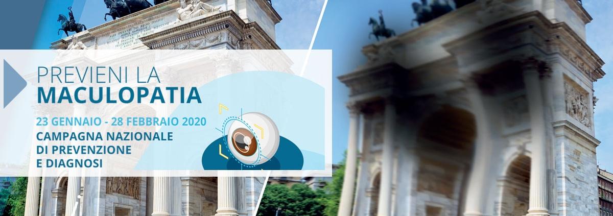 Campagna Nazionale di Prevenzione e Diagnosi della Maculopatia Senile